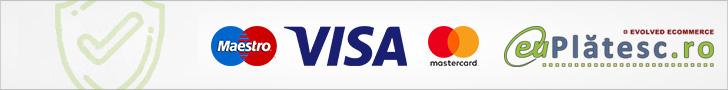 Plati prin Mastercard pe site-ul nostru